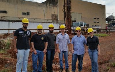 Visita técnica à obra do Supermercado LS Guarato